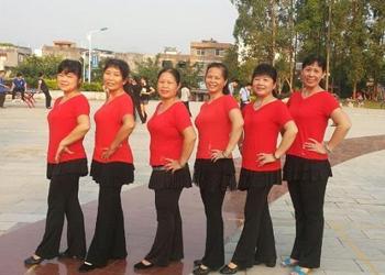 忻城青青自娱广场舞